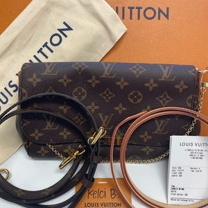 100% Authentic LV Favorite MM